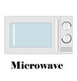 color of the microwave vector image
