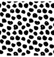 dots handdrawn seamless pattern vector image