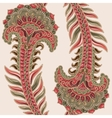 Paisley seamless pattern Indian backdrop vector image