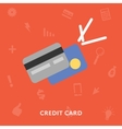 Credic card icon vector image