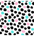 dots trendy seamless pattern vector image