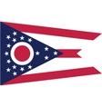 Ohio flag vector image vector image
