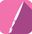 Brush Icon vector image
