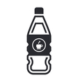 coffee bottle vector image vector image