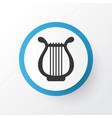 harp icon symbol premium quality isolated lyre vector image