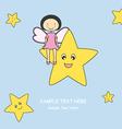 fairy star vector image