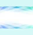 blue and green abstract background with copy space vector image
