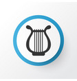 harp icon symbol premium quality isolated lyre vector image