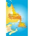 Newfoundland vector image