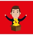 businessperson avatar design vector image