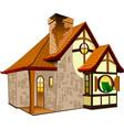 fairytale house vector image