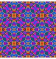 Multicolor geometric pattern in bright color vector image