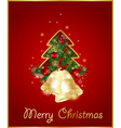 merry christmas elegant background vector image