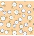 Seamless pattern with watches 569 vector image
