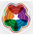 eps 10 pattern with hearts place for your text vector image