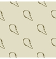 Sea shell seamless pattern Brown tones vector image