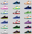 Sport Shoes Collection vector image vector image