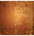 Grunge Background Brown abstract vintage vector image