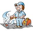 Happy Carpet Cleaner vector image vector image