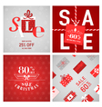Christmas Sale Posters and Banners vector image
