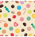 candies texture lollipop vector image