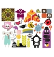 Mix of different images vol54 vector image