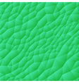 Seamless Triangle Pattern Green vector image