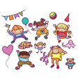 kids toys vector image vector image
