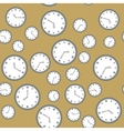 Seamless pattern with watches 571 vector image