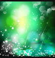 abstract defocused bokeh lights nature vector image