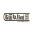 books market icon vector image
