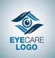EYE CARE LOGO 8 vector image