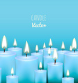 Candle Background vector image