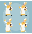 Set of Catolic Popes vector image