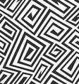monochrome retro spiral seamless texture vector image