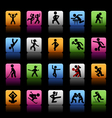 Set of 20 sport icons vector image vector image
