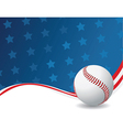American sports background vector image