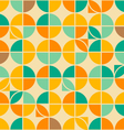 crossed circles pattern vector image vector image