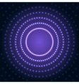 Blue Abstract Background with Lens Flare Dotted vector image