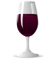 Glass With Wine vector image
