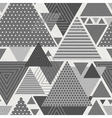 Abstract hipster polygon triangle background vector image vector image