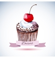 Beautiful happy birthday card vector image