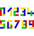 blocks vector image