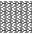 Zigzag striped texture vector image vector image