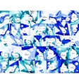 Mega collection of colo waves abstract backgrounds vector image vector image