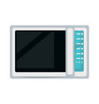 modern microwave oven vector image