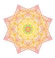 colorful mandala vector image vector image