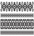 Ottoman motifs design series with thirty seven vector image