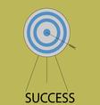 Succes icon flat design vector image