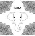 Symbol of India Elephant vector image
